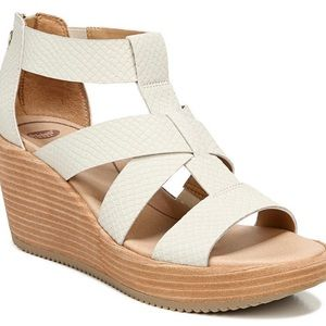 Dr. Scholl's Later Wedge Sandal 11 NWOT